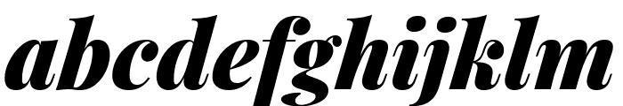 Playfair Display 900italic Font LOWERCASE