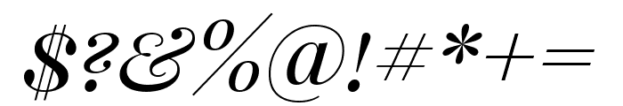 Playfair Display SC italic Font OTHER CHARS