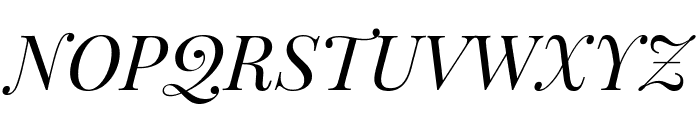 Playfair Display SC italic Font UPPERCASE