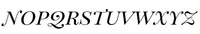 Playfair Display SC italic Font LOWERCASE