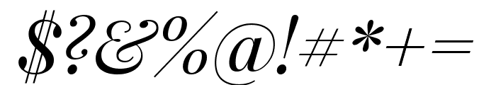 Playfair Display italic Font OTHER CHARS