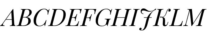 Playfair Display italic Font UPPERCASE