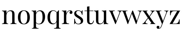 Playfair Display regular Font LOWERCASE