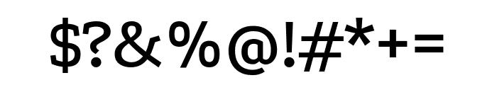 Podkova 500 Font OTHER CHARS