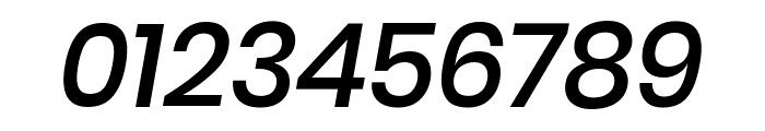 Poppins 500italic Font OTHER CHARS