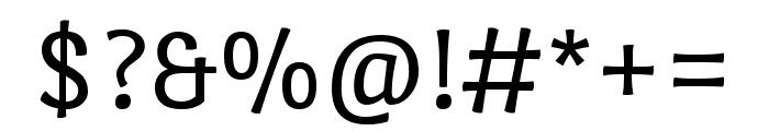 Port Lligat Sans regular Font OTHER CHARS