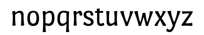 Port Lligat Sans regular Font LOWERCASE