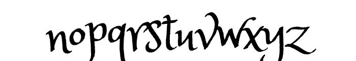 Princess Sofia regular Font LOWERCASE