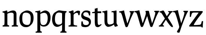 Prociono regular Font LOWERCASE