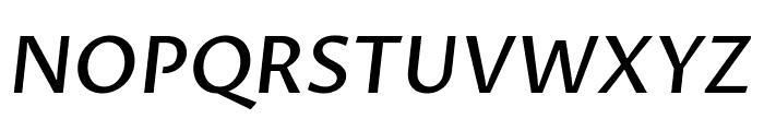 Proza Libre 500italic Font UPPERCASE