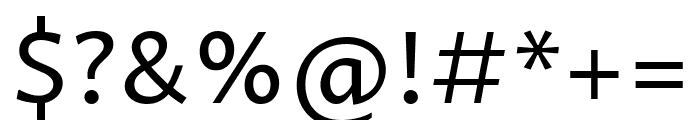 Proza Libre regular Font OTHER CHARS
