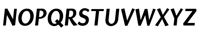 Puritan 700italic Font UPPERCASE