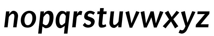 Puritan 700italic Font LOWERCASE