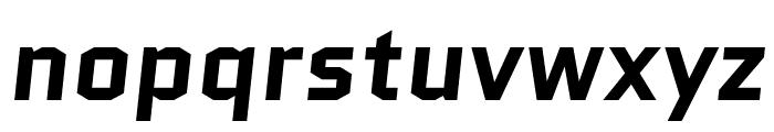 Quantico 700italic Font LOWERCASE