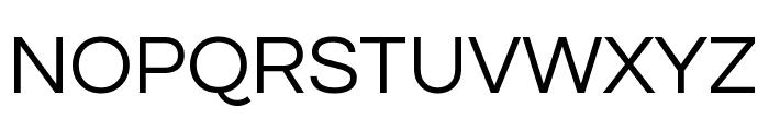 Questrial regular Font UPPERCASE