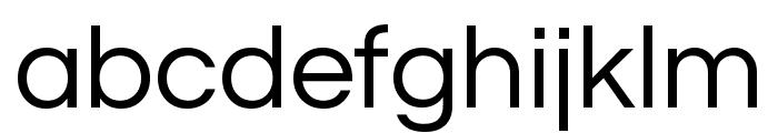 Questrial regular Font LOWERCASE