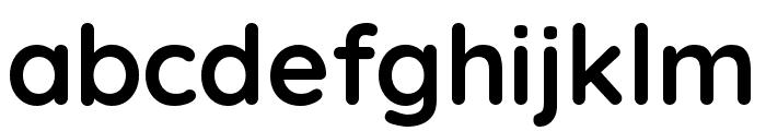 Quicksand 700 Font LOWERCASE