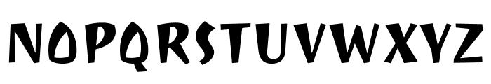 Ravi Prakash regular Font UPPERCASE