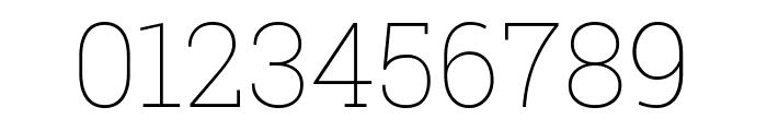 Roboto Slab 100 Font OTHER CHARS