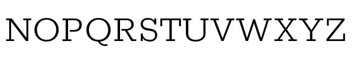 Rokkitt 300 Font UPPERCASE