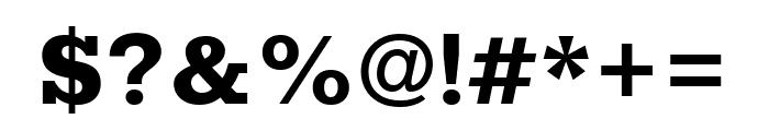Rokkitt 800 Font OTHER CHARS