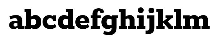 Rokkitt 800 Font LOWERCASE
