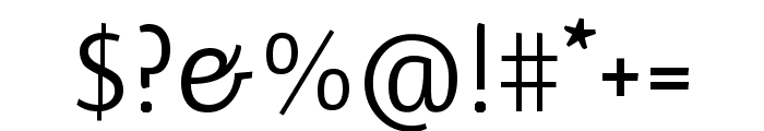 Ruluko regular Font OTHER CHARS