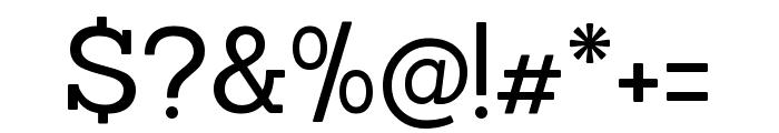 Sanchez regular Font OTHER CHARS