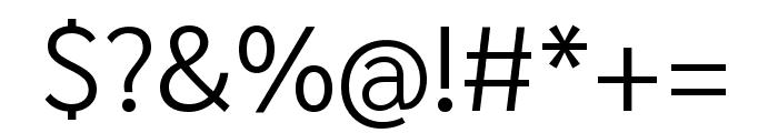 Sarabun 300 Font OTHER CHARS