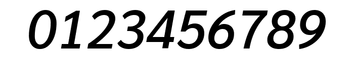 Sarabun 500italic Font OTHER CHARS