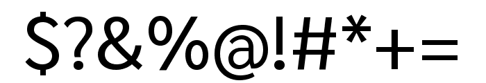 Sarabun regular Font OTHER CHARS