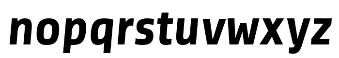 Share 700italic Font LOWERCASE