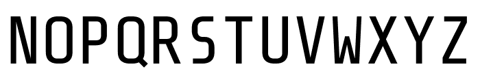 Share Tech Mono regular Font UPPERCASE