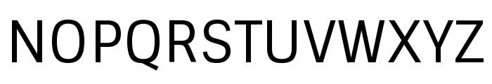 Sintony regular Font UPPERCASE