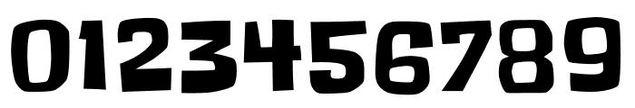 Slackey regular Font OTHER CHARS