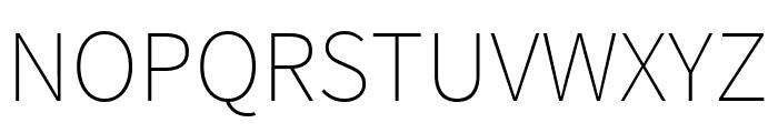 Source Sans Pro 200 Font UPPERCASE