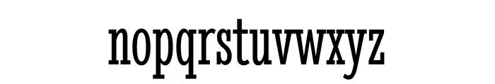 Stint Ultra Condensed regular Font LOWERCASE