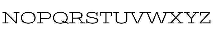 Stint Ultra Expanded regular Font UPPERCASE