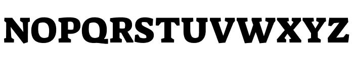 Suez One regular Font UPPERCASE