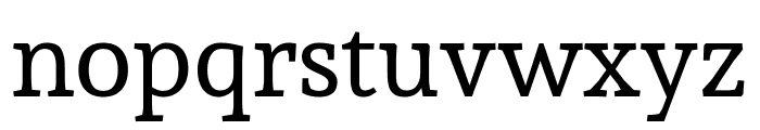 Sura regular Font LOWERCASE