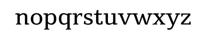 Suravaram regular Font LOWERCASE