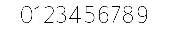 Tajawal 200 Font OTHER CHARS