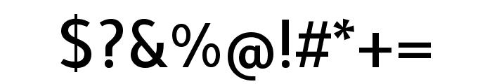 Tajawal 500 Font OTHER CHARS
