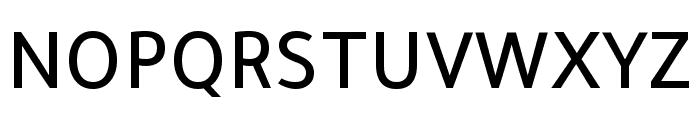 Tajawal 500 Font UPPERCASE