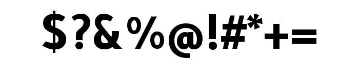Tajawal 700 Font OTHER CHARS