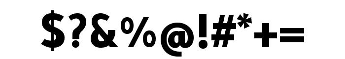 Tajawal 800 Font OTHER CHARS