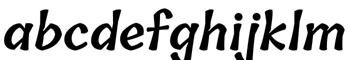 Tillana 600 Font LOWERCASE
