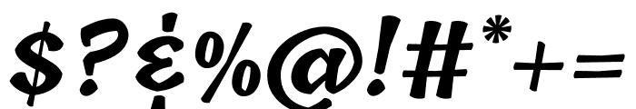 Tillana 700 Font OTHER CHARS