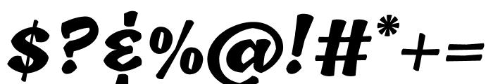 Tillana 800 Font OTHER CHARS