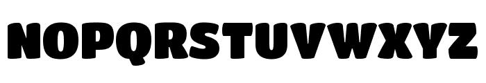 Titan One regular Font UPPERCASE